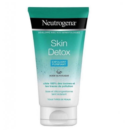 Neutrogena Gel Exfoliante Refrescante Skin Detox 150ml