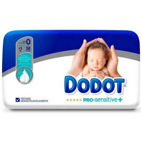 Dodot Pro Sensitive+ T-0 38 Unidades