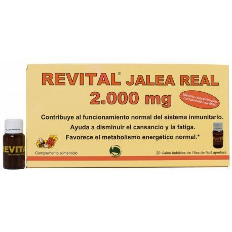 Revital Jalea Real 2000mg 20 Ampollas Bebibles
