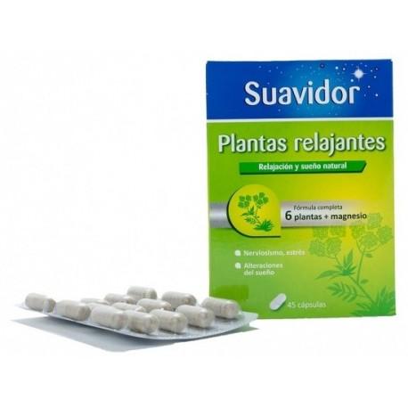SUAVIDOR PLANTAS RELAJANTES 45 capsulas