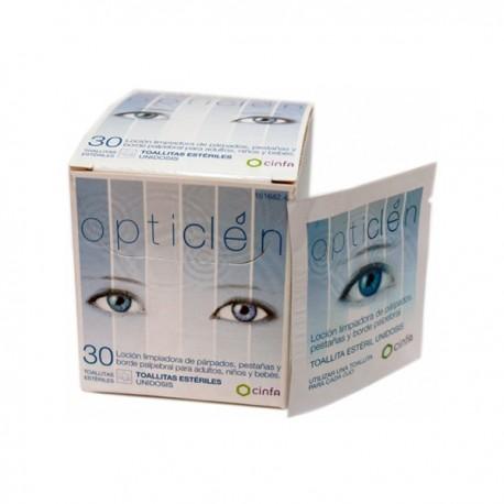 visaid clean soft 20 toallitas oftalmicas esteriles