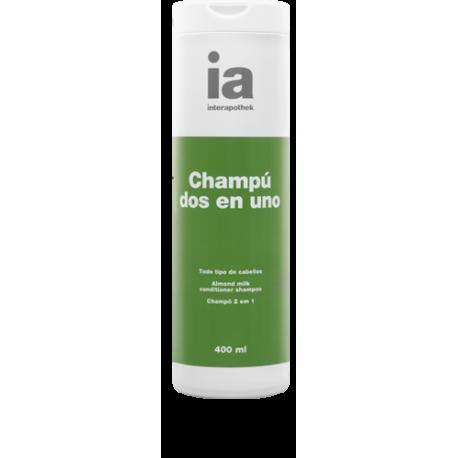 interapothek champu 2 en 1 400 ml