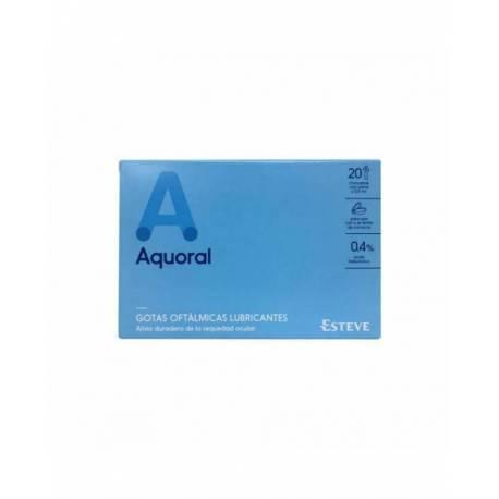 Aquoral Colirio Ojos Secos 20 Monodosis 0,5ml
