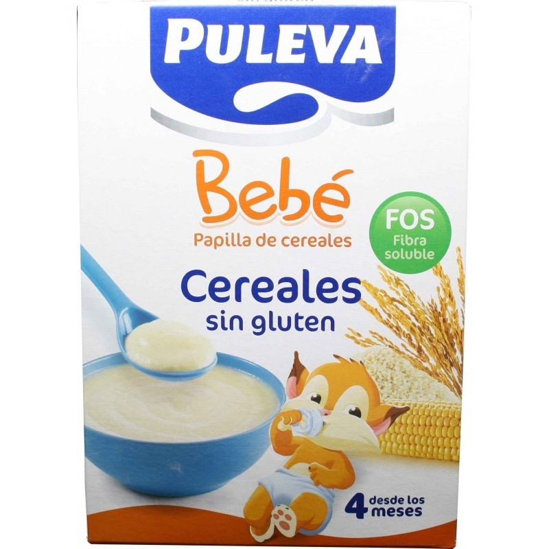 Lactalis nutricion ib puleva beb papilla cereales sin gluten 500 g farmacias 1000 - Cereales sin gluten bebe 3 meses ...