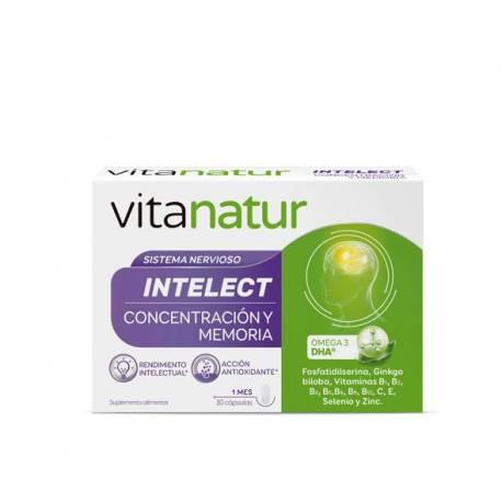 Vitanatur Intelect 30 Cápsulas