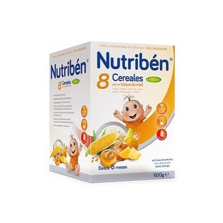 Nutribén® 8 Cereales Con Un Toque De Miel 4 Frutas 600 g