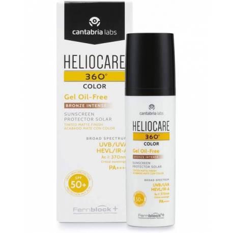 Heliocare 360 Color Gel Oil Free Bronze 50ml