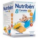 Nutribén 8 Cereales Galletas María 600 g