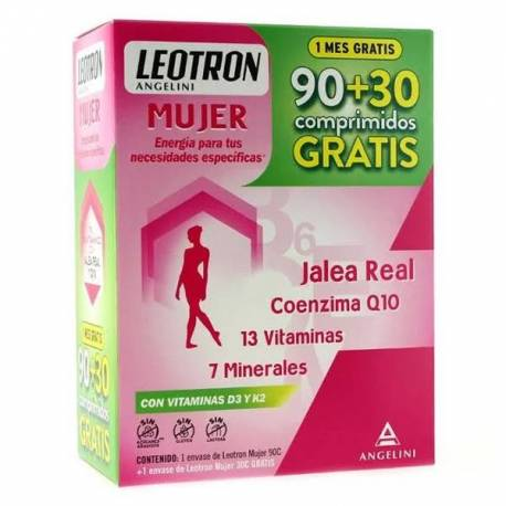 Leotron Mujer 90 + 30 Comprimidos Pack