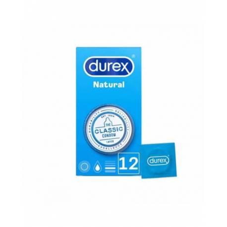 Durex Natural Plus Easy On 12 Unidades