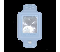 Pulsera de Gel Hidroalcoholico Rellenable Azul