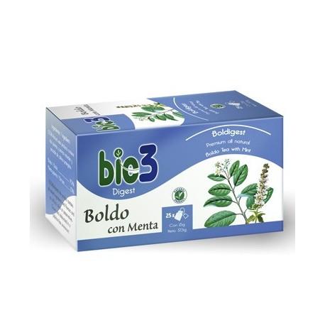 Bie3 Boldo con Menta 25 Bolsitas