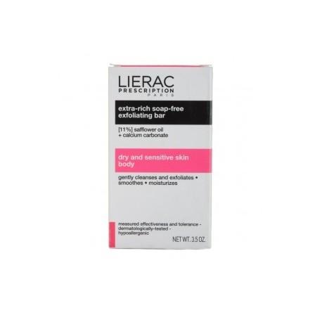 LIERAC Prescription Pastilla Exfoliante Corporal Extra-Rica sin Jabón 100 gr