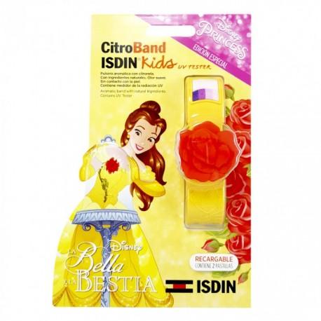 CITROBAND ISDIN KIDS + UV TESTES PULSERA BELLA Y BESTIA CON CITRONELA + 2 RECARGAS