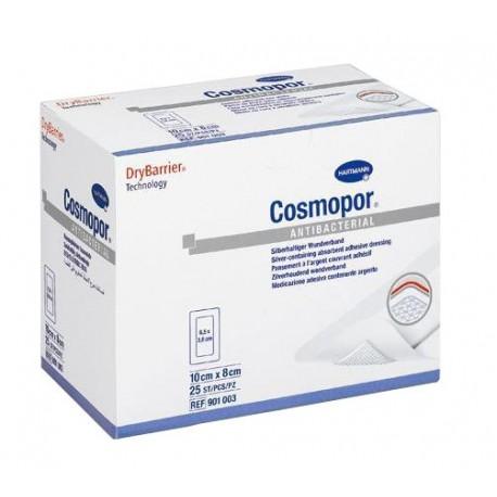 cosmopor antibacterial 10x8cm 5 uds