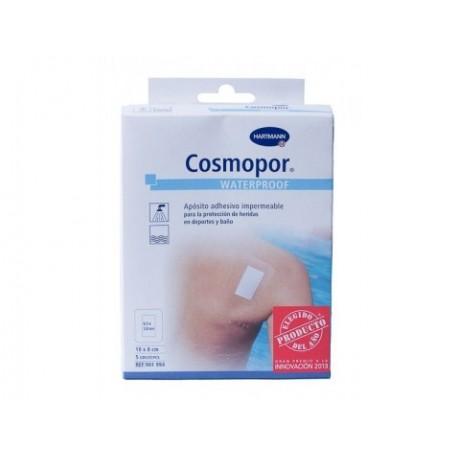 cosmopor waterproof aposito adhesivo 7.2 cm x 5 cm 5 u
