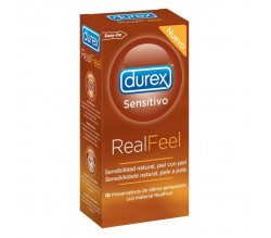 preserva.durex sensitivo real feel 10uds