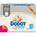 PAÑAL INFANTIL DODOT SENSITIVE RECIEN NACIDO T2 (3-6KG)