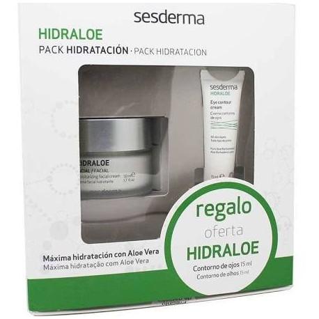 Sesderma Hidraloe Crema Facial 50 ml + Crema Contorno de Ojos 15 ml