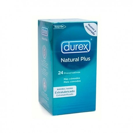 Durex Natural Plus Easy On 24 Unidades