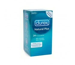 Preservativo Durex Natural Plus Easy on 24u.