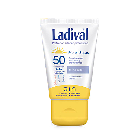 Ladival pieles secas crema fluida spf50