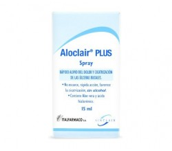 aloclair gum spray 15 ml.