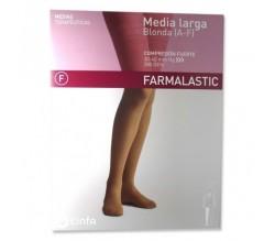 Farmalastic Media Larga Comp. Fuerte T-Reina Plus P-Derecha