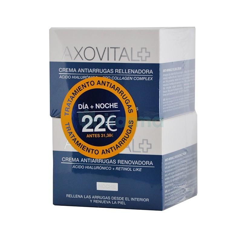 Axovital, Axovital Pack Crema Antiarrugas Rellenadora Dia..