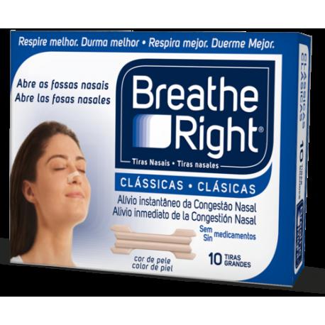 breathe right tira nasal pq/med 30u.