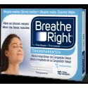 breathe right tira nasal transp.g.10u