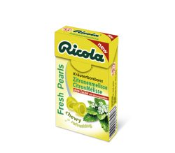 ricola perlas limon-melisa s/a 25 g.