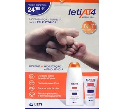 Leti At4 Pack Gel de Baño + Crema Corporal