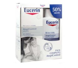 Pack Eucerin Oleogel Atopic 400ml+ Loción Atopic 400ml