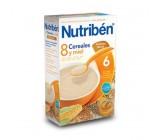 nutribén 8 cereales, miel y galletas maría 300g