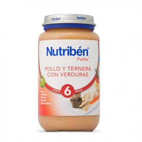 nutriben junior pollo/terne/verdur 200gr