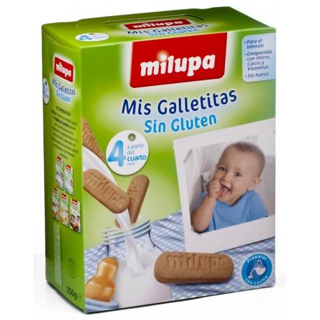 milupa galletitas s/gluten biberon 250gr