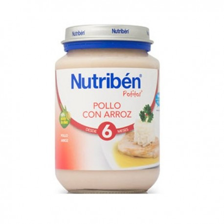 nutriben junior pollo con arroz 200gr.