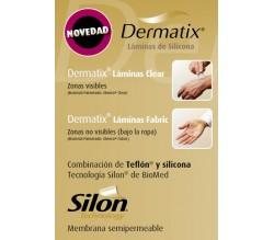 dermatix lamina silicona fabric 4x13cm