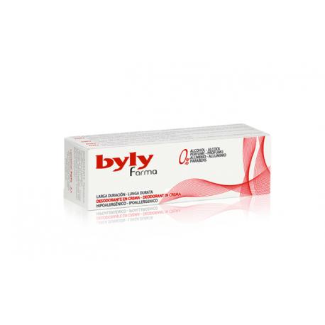 desodorante byly farma crema 30 ml.
