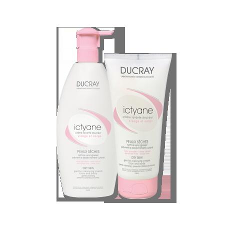 ducray ictyane crema ducha p/seca 200 ml
