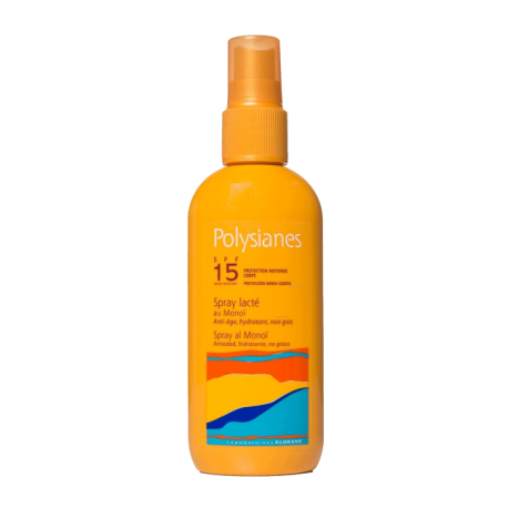 Polysianes Spray Al Monoi SPF15 150ml