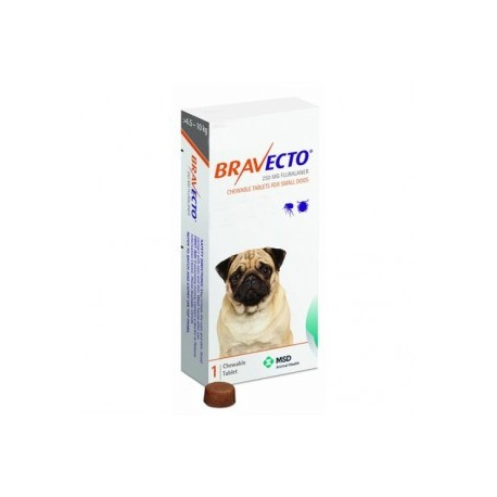 Bravecto 250mg 4,5-10kg