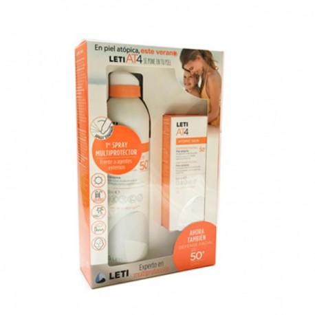 Leti AT4 Pack Defense facial+ Defense Spray SPF 50+