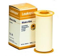esparadrapo papel leukopor 10 x 10 cm.