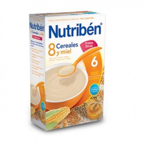nutriben 8 cer.y miel frutos secos 600 g