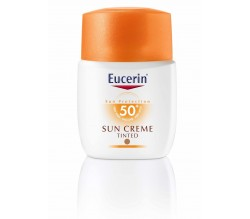 eucerin solar crema coloreada 50+ 50 ml