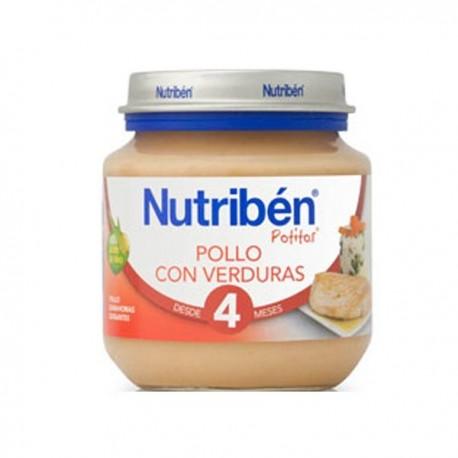nutriben bebe inicio pollo verdura 130gr