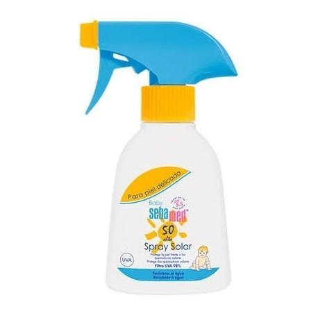 sebamed baby spray solar fps 50