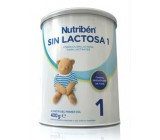 nutriben sin lactosa 400 g.